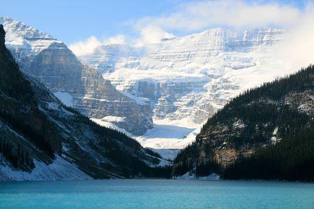 louise: Lake Louise in Banff National Park, Alberta Canada