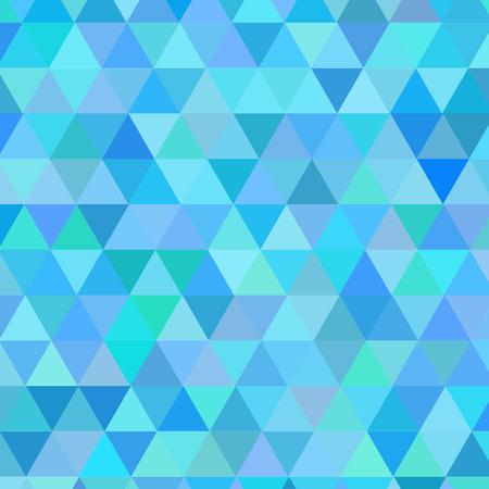 illustraton: Abstract modern geometric blue background. Vector illustraton.