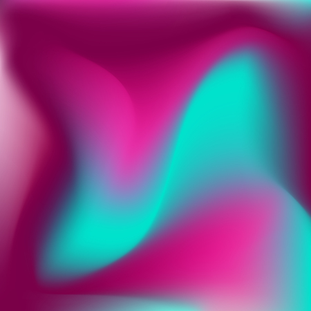 Candy colored saturated mesh background, fume wavy shaped design