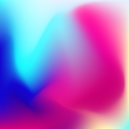 Soft wavy mesh background. Dark and light blue, pink gentle 3d shapes.