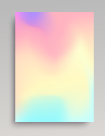 Liquid colored gradient backdrop for posters, invitations and web banners. Vector illustration.