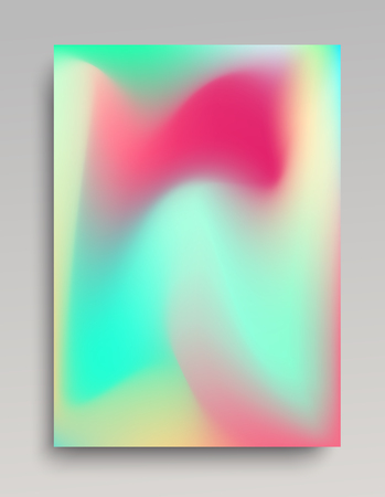 Pastel colored gradient background for invitations, cards and web design. Vector illustration.