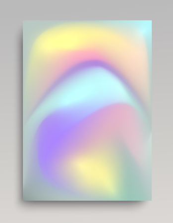 Voumetric colorful foil paper background for posters, prints and web usage. 写真素材 - 98109599