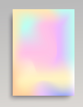 Smooth gradient poster in vertical format. Colorful backdrop for print and web usage.