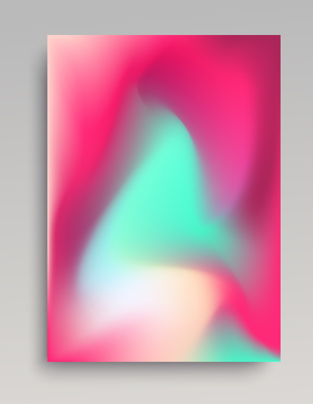 Candy colored vertical backdrop. Smooth and volumetric gradient, natural look of gas.