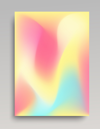 Caramel gradient background in vertical format for posters and web banners. Smooth transitions and natural waves.