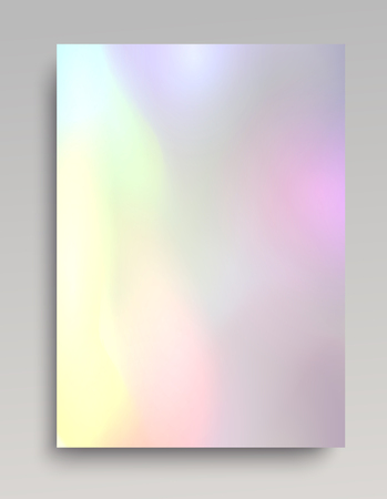 Bright hologram backdrop for cards, invitations, posters and web design.  イラスト・ベクター素材