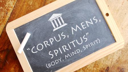motto: Corpus, Mens, Spiritus. A Latin phrase meaning Body, Mind, spirit. Andrews Universitys motto.