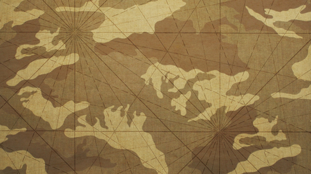 converging: Camouflage Background and Converging Lines