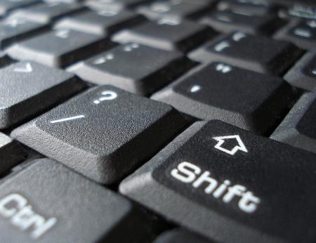 Black keyboard photo