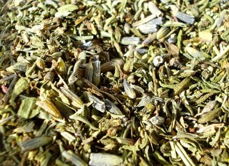 herbs de provence: Herbs de provence Stock Photo