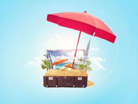 dubai travel design, vacation in UAE Imagens