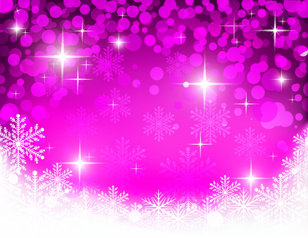 christmassy: christmassy abstract  bright violet and white  background, vector illustration