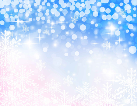 christmassy: christmassy abstract pink- blue background, vector illustration Illustration