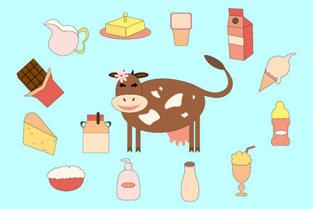 milk products: Cow and milk products