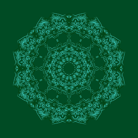 guipure: Lace decor. Beautiful guipure cloth on a green background. Cute decor for a card, Invitation, holiday or any other design use