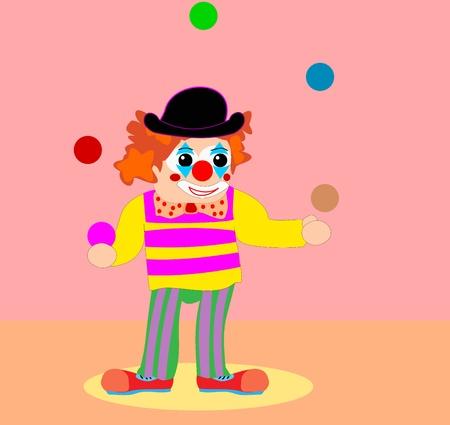 Clown Stock Vector - 10810564