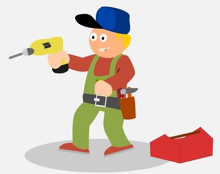 hammer drill: Handyman