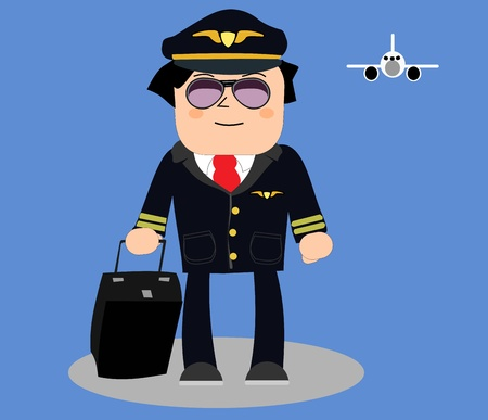 commercial airplane: Pilot