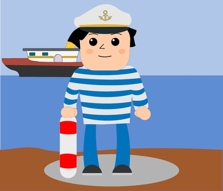 Sailor  Illustration