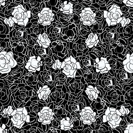 Zwart-wit steeg herhalen patroon