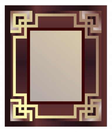 Vintage Picture Frame Stock Vector - 9888670