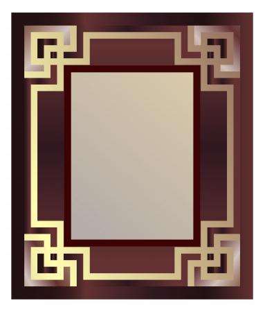 art deco design: Vintage Picture Frame Illustration