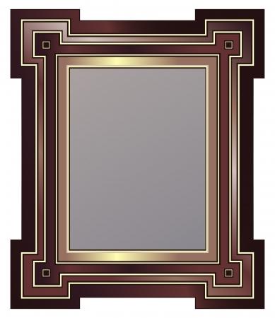 Marco de imagen de estilo Art Deco Foto de archivo - 9888671