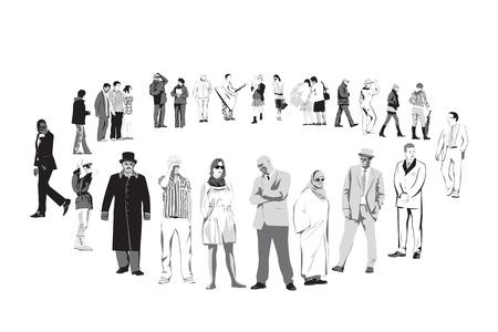 cultural diversity: Conjunto de personas culturalmente diverso