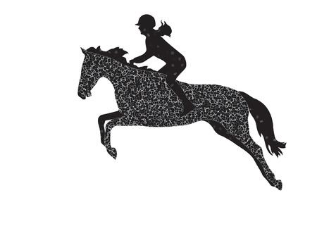 caballo saltando: Saltos