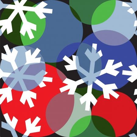 Kerst wrapper ontwerp Stock Illustratie