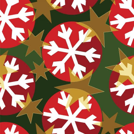 Design for Christmas wrapping paper Vector