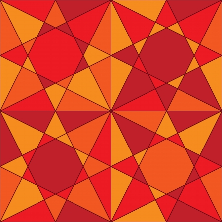 Mosaic seamless pattern Stock Vector - 14512252