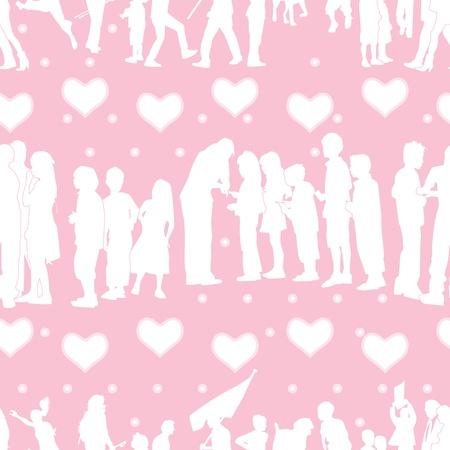 merrily: Romantic Pattern