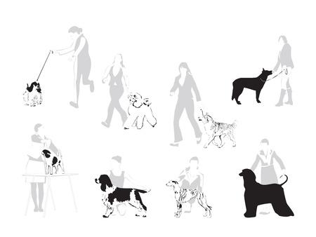 De Wereld van Dog Shows - illustratie
