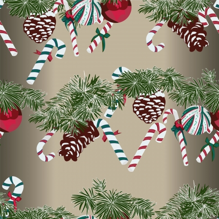 Christmas Gift Wrapping Paper Swatch Vector