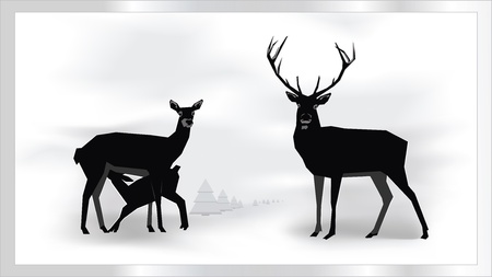 doe: Christmas Decoration