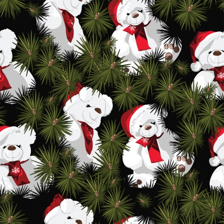 Children s Christmas Wrapping Paper Design Vector