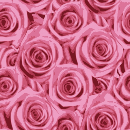 rosa: Rose Seamless Pattern