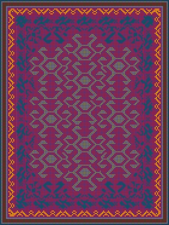 kilim: Carpet Design in Oriental Style