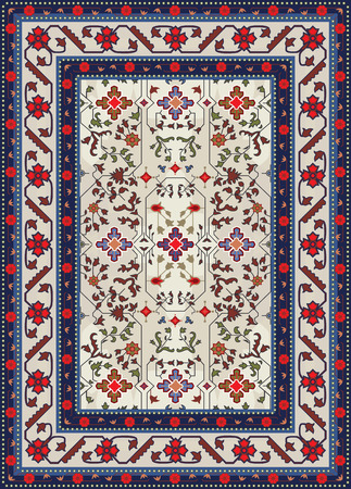 kilim: Abstract Carpet Design