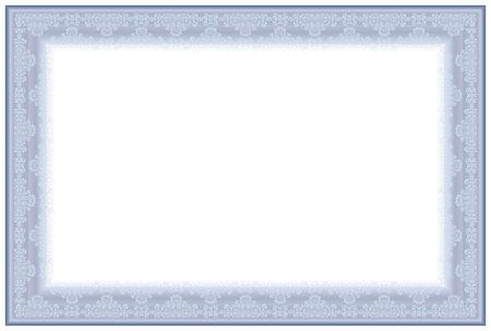 merit: Blank Horizontal certificate template