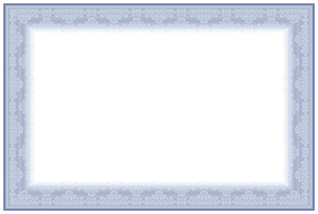 Blank Horizontal certificate template