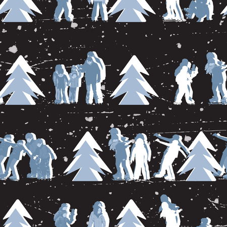 wintry: Repeating Wintry Pattern