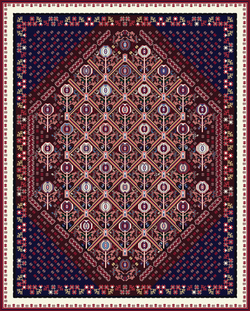 oriental rug: Design For Oriental Style Area Rug