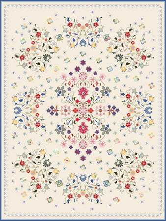 Carpet Design For Large Area