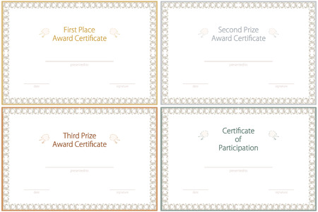 First Certificate Images Pictures Royalty Free First – First Place Award Template