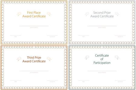 participacion: Premio Conjunto de plantillas (1,2 y 3 premios y certificado de participaci�n el lugar de la competencia)