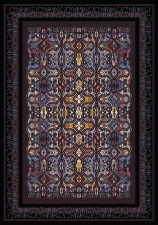 floor mat: Abstract Carpet Design