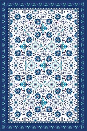 Blue Carpet Design